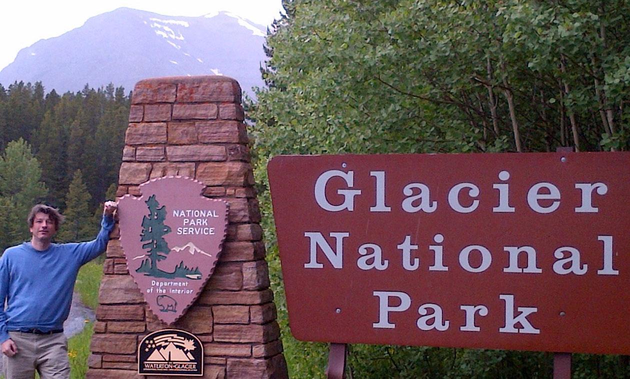 ग्लेशियर नॅशनल पार्क मोन्टाना यूएसए