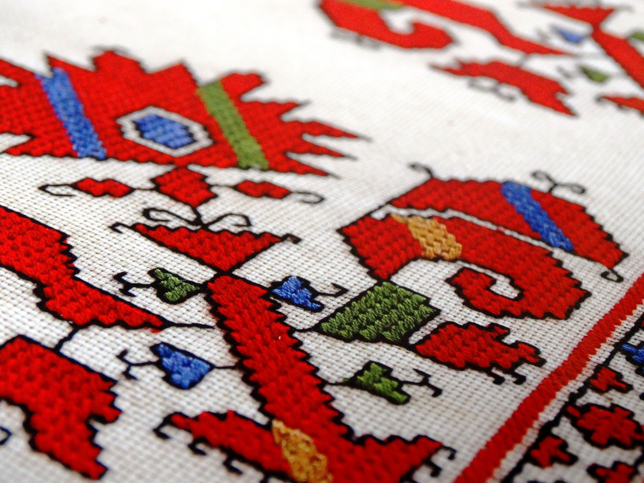 Symbolism of Bulgarian embroidery